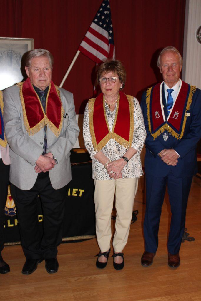 Br Jan Wahlström, Sy Britt-Marie Elvirsson och DD Br Rolf Hansson från Nybyggarna är också gäster.