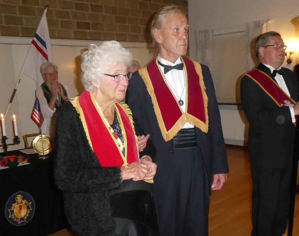 Sy Gun-Britt och Br Jan mottager 40-årsmärket!