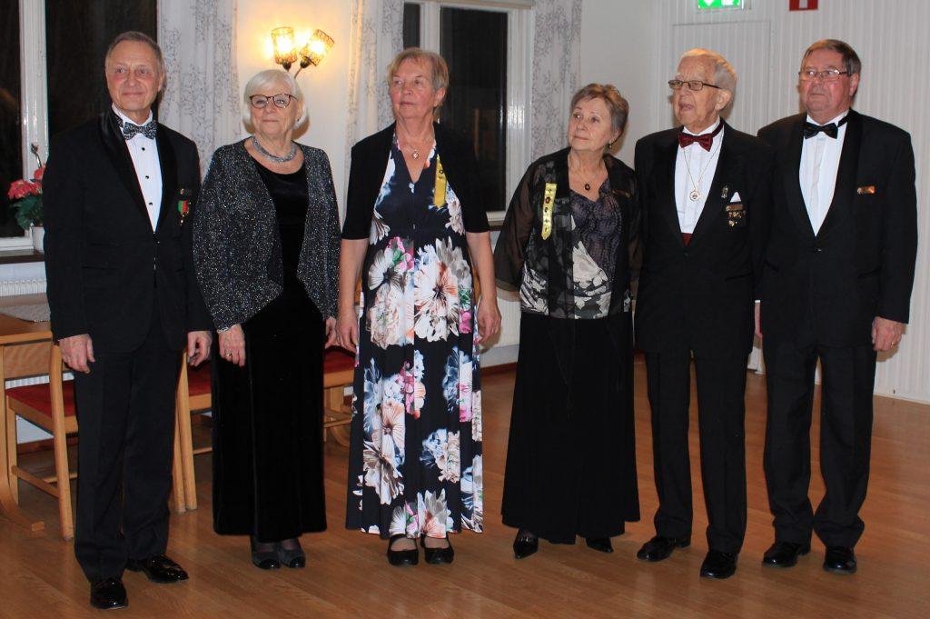 Gruppen (styrelsen) tackas för kvällens evenemang.
