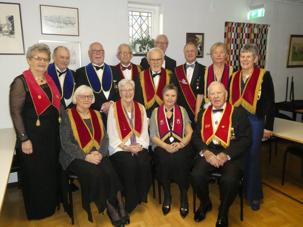 Alla vi gästande syskon från Höganäs LL 634.